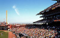 Ballparks: San Francisco Pacific Bell Park--looking to right. A mere 307' to the foul pole.