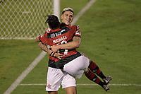 Volta Redonda (RJ), 01/05/2021 - VOLTA REDONDA-FLAMENGO - Pedro, do Flamengo, comemora gol. Partida entre Volta Redonda e Flamengo, válida pela semifinal do Campeonato Carioca, realizada no Estádio Raulino de Oliveira, em Volta Redonda, neste sábado (01).
