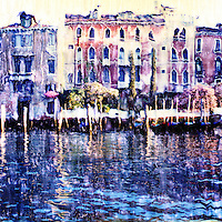 The Grand Canal offers the passerby one stunning view after another. Trees, plants and flowers often provide embellishment to the ancient building.<br />