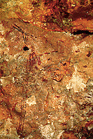 Dated at 6000 BC, this painting of the Cueva de la Arana (spider cave) in Valencia, Spain, illustrates the importance for hunter-gatherers.