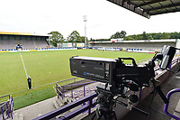 illustration picture of the Forestierstadion  pictured during a female soccer game between SV Zulte - Waregem and Club Brugge YLA on the fourth matchday of the 2021 - 2022 season of the Belgian Scooore Womens Super League , saturday 11 of September 2021  in Harelbeke , Belgium . PHOTO SPORTPIX | DIRK VUYLSTEKE
