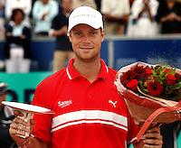 18-07-2004, Amersfoort, Tennis ,Priority Dutch Open, Martin Verkerk winnaar van de Dutch Open 2004