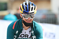 21st April 2021; Imst, Austria;  Cycling Tour des Alpes Stage 3,  Imst in Austria to Naturns/Naturno, Italy; Anton Palzer Bora-Hansgrohe