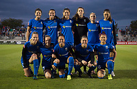 Boyds, MD - Saturday September 30, 2017: Seattle Reign Starting XI during a regular season National Women's Soccer League (NWSL) match between the Washington Spirit and the Seattle Reign FC at Maureen Hendricks Field, Maryland SoccerPlex.