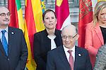 Uxue Barkos, president os Navarra at the meeting with the Presidents of 17 autonomous governments at the Senate in Madrid, January  17, 2017. (ALTERPHOTOS/Rodrigo Jimenez)