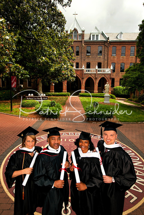 Belmont Abbey College Graduation 2009 in Belmont North Carolina..