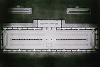 Floor plan of Bibliotheque Sainte-Genevieve. Architect Henri Labrouste.
