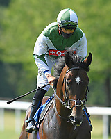 Beat Le Bon ridden by Sean Levey goes down to the start of The AJN Steelstock Sovereign Stakes  during Horse Racing at Salisbury Racecourse on 9th August 2020