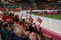 SPEEDSKATING: HAMAR: 01-03-2020, ISU World Speed Skating Championships, Norwegian fans, ©photo Martin de Jong