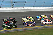 Monster Energy NASCAR Cup Series<br /> The Advance Auto Parts Clash<br /> Daytona International Speedway, Daytona Beach, FL USA<br /> Sunday 11 February 2018<br /> Chase Elliott, Hendrick Motorsports, Mountain Dew Chevrolet Camaro, Martin Truex Jr., Furniture Row Racing, 5-hour ENERGY/Bass Pro Shops Toyota Camry, Denny Hamlin, Joe Gibbs Racing, FedEx Express Toyota Camry, Ryan Blaney, Team Penske, Menards/Peak Ford Fusion, Erik Jones, Joe Gibbs Racing, Circle K Toyota Camry, Kyle Busch, Joe Gibbs Racing, M&M's Toyota Camry<br /> World Copyright: John K Harrelson<br /> LAT Images