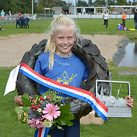 INLINESKATEN: KOCKENGEN: 28-08-2021, NK Fierljeppen Jeugd, ©foto Martin de Jong