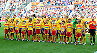 Fifa Women's World Cup Germany 2011 : Zweden - France Frankrijk at Sinsheim World Cup stadium : ploeg Sweden.foto DAVID CATRY / Vrouwenteam.be
