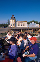 USA, Alaska, Anleger für die Raddampfer am Chena-River bei Fairbanks
