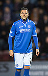 Hearts v St Johnstone....02.11.13     SPFL<br /> Sanil Jahic<br /> Picture by Graeme Hart.<br /> Copyright Perthshire Picture Agency<br /> Tel: 01738 623350  Mobile: 07990 594431