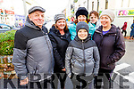Eamonn Guerin, Honor Riardon, Helen Guerin, David and Brenda O'Connor with Paula Brosnan attending the Bill Kirby Memorial Walk fundraiser for the Kerry Hospice on St Stephens morning.