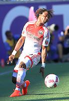 Orlando, Florida - Sunday, October 23, 2016: Orlando City SC defeated D.C. United 4-2 in a MLS match at Camping World Stadium.