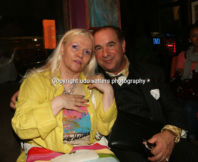 Lilo Kinne and George L. Greco attend Pamela Quinzi Fashion Show Presented by Pamela Quinzi & Eya BeGood Held at Lima's Taste, 6/18/10