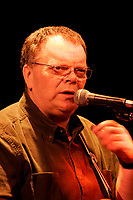 Bob Walsh, bluesman in concert January 2005<br /> <br /> <br /> photo : (c) images Distribution<br />  - PHOTO D'ARCHIVE :  Agence Quebec Presse