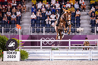 CHN-Zhenqiang Li rides Uncas S during the Jumping Individual Qualifier. Tokyo 2020 Olympic Games. Tuesday 3 August 2021. Copyright Photo: Libby Law Photography