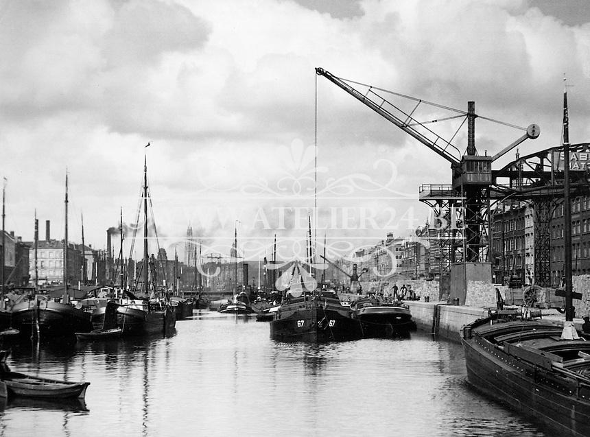 Zuidschippersdok / Zuiderdok in Antwerpen.