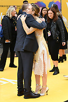"""Danny Boyle and Lily James<br /> arriving for the """"Yesterday"""" UK premiere at the Odeon Luxe, Leicester Square, London<br /> <br /> ©Ash Knotek  D3510  18/06/2019"""