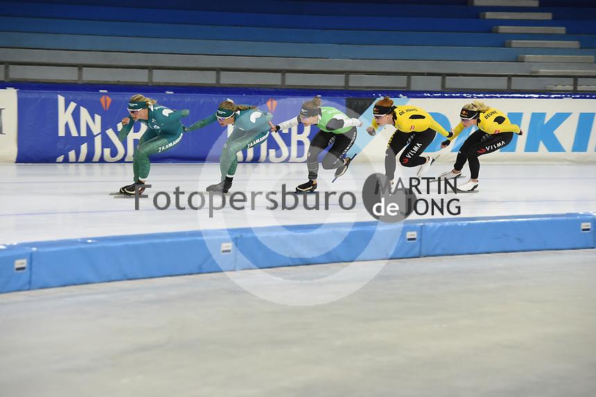 SCHAATSEN: HEERENVEEN: 13-07-2021, IJsstadion Thialf, ZOMERIJS, Topsporttraining, ©foto Martin de Jong