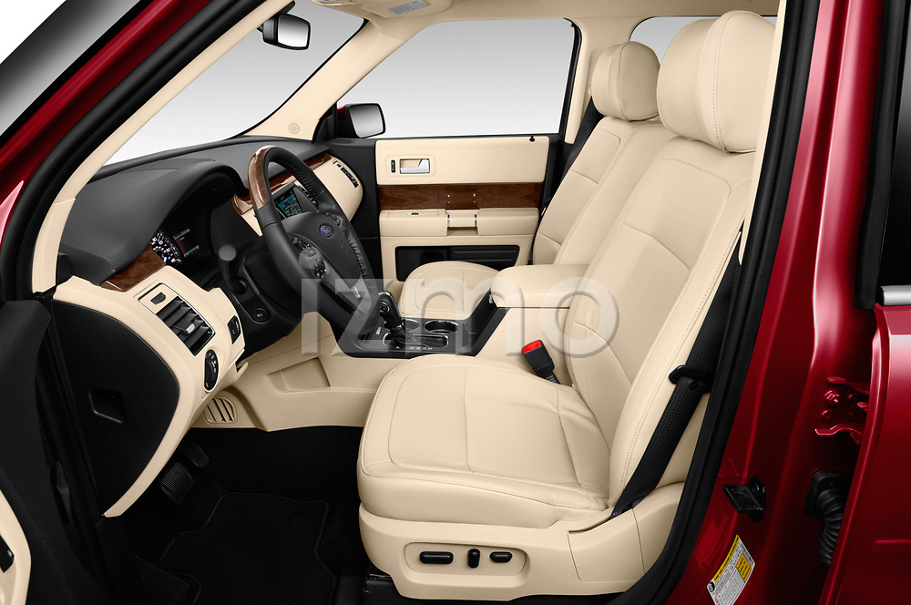 Front seat view of a 2019 Ford Flex Limited 5 Door SUV front seat car photos