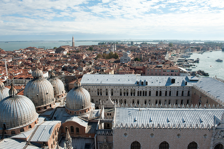 Venice was an independent State and a maritime Republic run by a mercantile oligarchy for over one thousand years. The Doges were its leaders, each one elected for a lifetime. Their residence was the Palace of the Doges. In 1797, the last  Doge (#120) surrendered to the Napoleonic Army and Venice lost its independence.