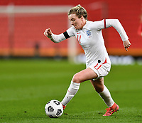 13th April 2021; Bet365 Stadium, Stoke, England; Lauren Hemp of England during the womens International Friendly match between England and Canada