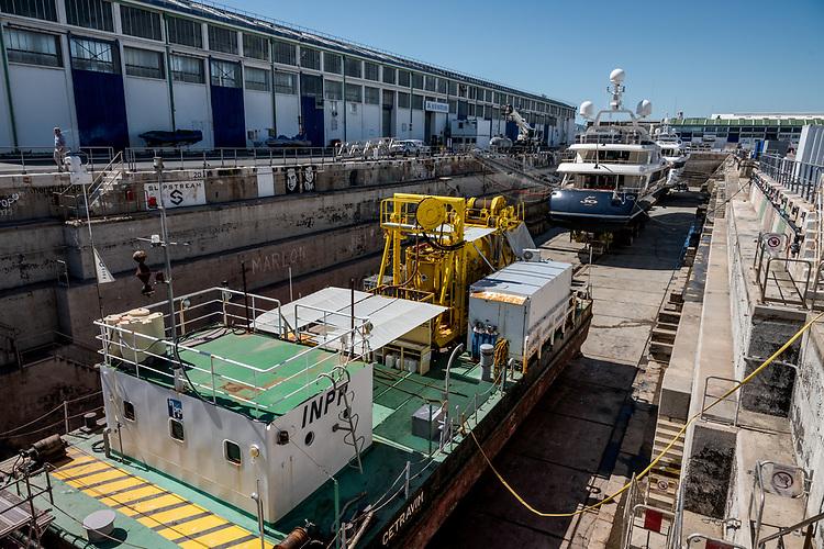 Chantier naval Sud Marine ShipYard - Marseille 2020