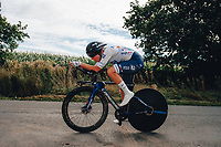 6th October 2021 Womens Cycling Tour, Stage 3. Individual Time Trial; Atherstone to Atherstone. Maelle Grossetete.