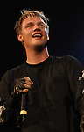 Nick Carter of the Backstreet Boys performs solo at the 104 KRBE Jingle Jam 2002 Thursday Dec. 5,2002 at the Compaq Center.(Dave Rossman/Special to the Chronicle)