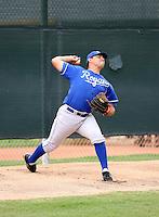 Jacob Rodriguez / Kansas City Royals 2008 Instructional League..Photo by:  Bill Mitchell/Four Seam Images