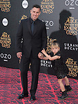 """Willow Sage and Carey Hart attends The Premiere Of Disney's """"Alice Through The Looking Glass"""" held at The El Capitan Theatre  in Hollywood, California on May 23,2016                                                                               © 2016 Hollywood Press Agency"""