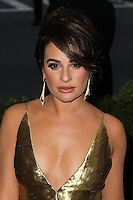 "NEW YORK CITY, NY, USA - MAY 05: Lea Michele at the ""Charles James: Beyond Fashion"" Costume Institute Gala held at the Metropolitan Museum of Art on May 5, 2014 in New York City, New York, United States. (Photo by Xavier Collin/Celebrity Monitor)"