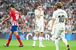 Real Madrid Gareth Bale during La Liga match between Real Madrid and Atletico de Madrid at Santiago Bernabeu Stadium in Madrid, Spain. September 29, 2018. (ALTERPHOTOS/Borja B.Hojas)