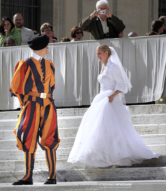Pontifical Swiss Guard.The Corps of the Pontifical Swiss Guard or Swiss Guard,Guardia Svizzera Pontificia,responsible for the safety of the Pope, including the security of the Apostolic Palace. It serves as the de facto military of Vatican City..