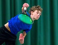 Wateringen, The Netherlands, March 16, 2018,  De Rhijenhof , NOJK 14/18 years, Nat. Junior Tennis Champ. Thom Griffioen (NED)<br /> Photo: www.tennisimages.com/Henk Koster