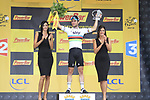 World Champion Mark Cavendish (GBR) Sky Procycling wins the sprint finish at the end of Stage 2 from Vise to Tournai in the 99th edition of the Tour de France starting in Vise, Liege, Belgium, 2nd July 2012 (Photo by Eoin Clarke/NEWSFILE)