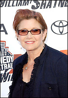 CARRIE FISHER @ the Comedy Central's roast of William Shatner held @ the CBS Studio center. #