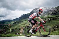 Harry Sweeny (AUS/Lotto Soudal)<br /> <br /> 73rd Critérium du Dauphiné 2021 (2.UWT)<br /> Stage 8 (Final) from La Léchère-Les-Bains to Les Gets (147km)<br /> <br /> ©kramon
