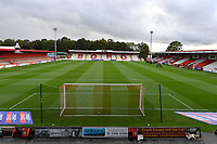 General view of the Lamex Stadium Empty Stadiums EFL Games during Stevenage vs MK Dons, EFL Trophy Football at the Lamex Stadium on 6th October 2020