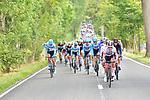 UAE Team Emirates on the front during La Fleche Wallonne 2020, running 202km from Herve to Mur de Huy, Belgium. 30th September 2020.<br /> Picture: ASO/Gautier Demouveaux   Cyclefile<br /> All photos usage must carry mandatory copyright credit (© Cyclefile   ASO/Gautier Demouveaux)