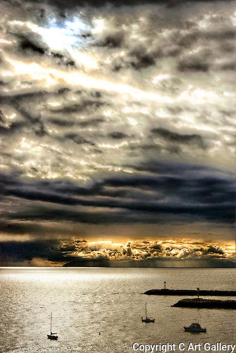 Pacific Storm, Corona del Mar, CA