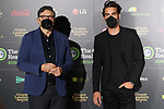 Carlos Bardem and Jon Kortajarena attend the Climate Leaders Awards 2021 at the Callao cinema on March 03, 2020 in Madrid, Spain.(AlterPhotos/ItahisaHernandez)