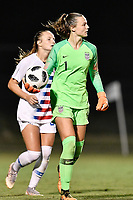 Lakewood Ranch, FL - Wednesday, October 10, 2018:   Julia Dohle during a U-17 USWNT match against Colombia.  The U-17 USWNT defeated Colombia 4-1.