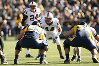 2 December 2006: Pat Maynor and Trevor Hooper during Stanford's 26-17 loss to Cal in the 109th Big Game at Memorial Stadium in Berkeley, CA.