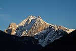 Mt Marmolada from Hotel Il Campinetto view, Canazei, Italy