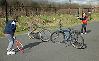 31-03-10, Amersfoort, tenniskids, Tennissen kan overal