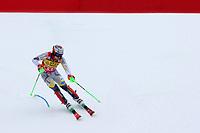 21st December 2020; Alta Badia Ski Resort, Dolomites, Italy; International Ski Federation World Cup Slalom Skiing; Henrik Kristoffersen (NOR) comes through the finish gate